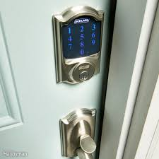 diy home security the family handyman all about smart door locks keyless entry bluetooth and more
