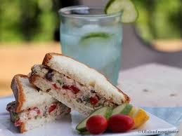 Tuna Salad Mediterranean Style Mediterranean Tuna Salad Sandwich