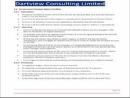 itil service level agreement template youtube