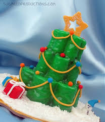 Tree Decorations For Cakes Sugared Lagniappe Christmas Tree Mini Cakes