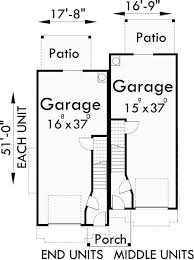 Three Story Townhouse Floor Plans 17 Best 3 Br Townhouse Plan Images On Pinterest Townhouse