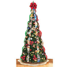pop up tree the disney pop up christmas tree hammacher schlemmer