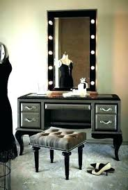 Bedroom Vanity Set With Lights Makeup Vanity Table With Lights Canada Dressers Mirror For