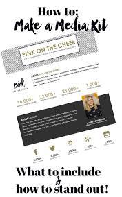 74 best blogging media kit images on pinterest blog tips social