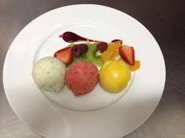 de la cuisine au jardin benfeld l assiette de sorbets photo de de la cuisine au jardin benfeld