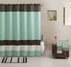 bathroom shower curtain decorating ideas splendid shower curtains and rugs ideas with blue waters bath set 5