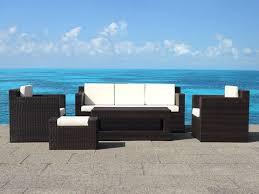 divanetti in vimini da esterno divanetti poltrone giardino classico country moderno design