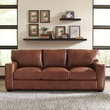 Plush Leather Sofas by Leather Sofas