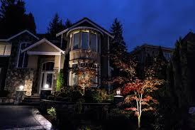 Vista Landscape Lighting by Elegant Home Stuns At Night With Newcastle Led Landscape Lighting