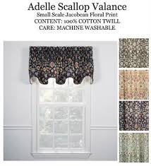 Fishtail Swags Valances Adelle Medallion Scallop Valance Www Bestwindowtreatments Com