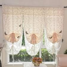 rideaux fenetre cuisine cafe 80 140cm 1 pc rideau pour fenêtre de salon chambre cuisine