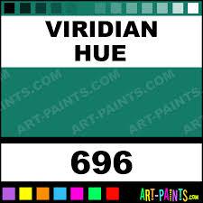 viridian hue artist watercolor paints 696 viridian hue paint