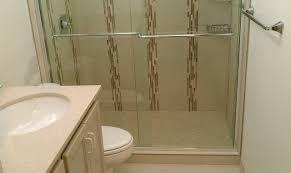 Bathroom Tub To Shower Conversion Bathroom Tub To Shower Conversion Contemporary Bathroom