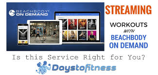 beachbody on demand days to fitness