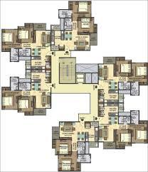 3 Bhk Apartment Floor Plan casa rio floor plans casa by lodha