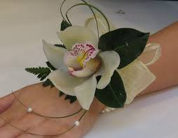 White Orchid Corsage Corsage
