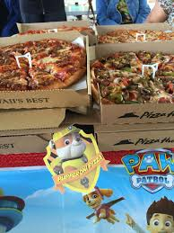 pupperoni pizza paw patrol birthday party niece