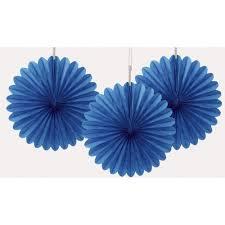 royal blue tissue paper 6 royal blue tissue paper fan decorations 3ct walmart