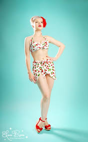 99 best pin up style images on pinterest bikinis bathing suits