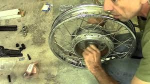73 honda cb750 cafe racer build episode 6 rear wheel bearings