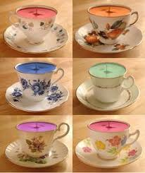 tea cup candle diy teacup candles antique tea cups soy wax flakes and teacup