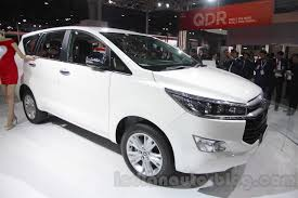 toyota innova toyota innova crysta to launch in 5 variants