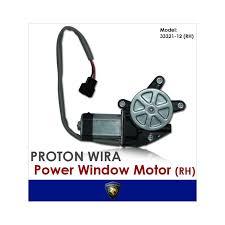 genuine proton saga iswara right side power window motor 33321 12