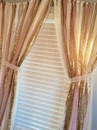 Pink And White Curtains For Nursery Pink And Gold Curtains Curtains Ideas