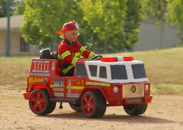 kids fire engine ride on unboxing and review youtube