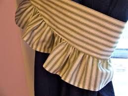 Curtain Holdback Ideas 64 Diy Curtain Tie Backs Guide Patterns