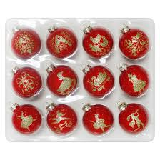 12ct gold 12 days of ornament set wondershop target