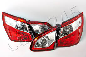 nissan qashqai rear light tail lights rear lamps full set valeo fits nissan qashqai 2