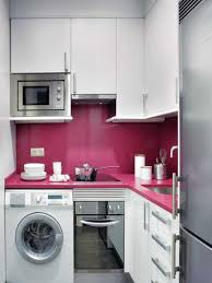modern island kitchen kitchen best pink kitchen color ideas for sweet home white and