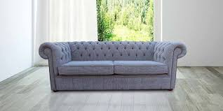 Fabric Chesterfield Sofa Designersofas4u Buy Slate Grey Fabric Chesterfield Sofa