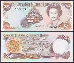 Twenty Five Dollars Cayman Islands Coins And Banknotes International Find What You
