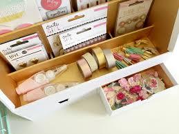 bureau scrapbooking update your craft room or office crate paper