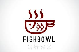 fish bowl soup logo template logo templates creative market