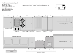floor plan gallery custom food truck builder u0026 manufacturer