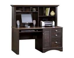 Menards Computer Desks Sauder Harbor View Antiqued Paint Computer Desk With Hutch At