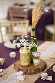 Vintage Centerpieces For Weddings by Best 25 Wood Slab Centerpiece Ideas On Pinterest Rustic
