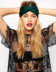 velvet headband asos asos emerald velvet turban headband