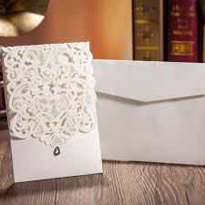 Blank Wedding Invitation Card Stock Online Shop Laser Cut Wedding Invitations Cards With Rhinestone