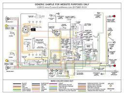 1952 u0026 1953 ford cars color wiring wiring diagram classiccarwiring
