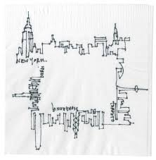 i love this little sketch from arch record u0027s cocktail napkin