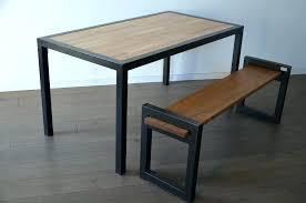 table et banc cuisine table de salle a manger avec banc banquette cuisine pr la