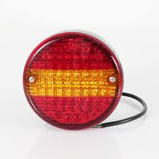 aftermarket lights for trucks china 12v 24v e mark round hamburger aftermarket led truck tail