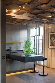 111 best ceiling design images on pinterest ceiling design art gallery and living space merged using a rebellious design scheme interior design kitcheninterior ideasceiling