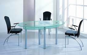 oval glass dining room table with worthy oval glass dining table