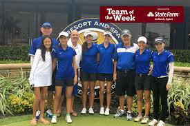 observer preps team of the week the first academy girls golf