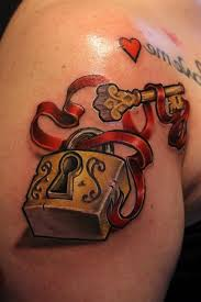 18 lock and key tattoos with lovely and amazing meanings tattoos win